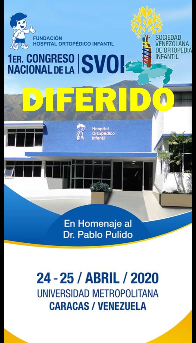 I Congreso Sociedad Venezolana de Ortopedia Infantil